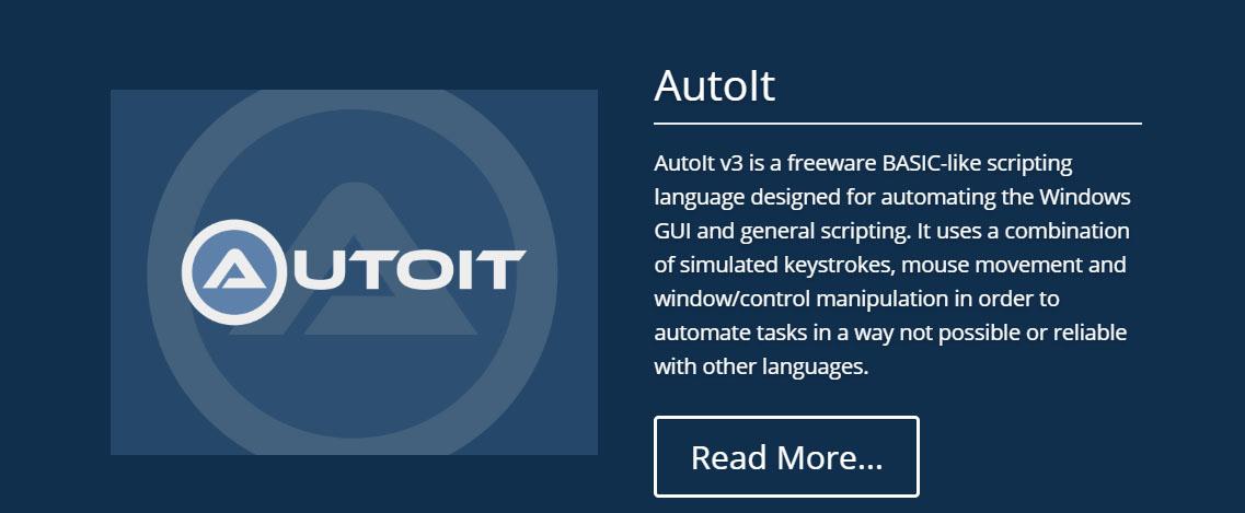AutoIt オートイット オートアイティー